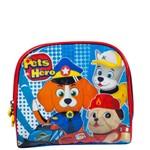 Lancheira Pets Hero La32733ph Azul