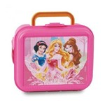 Lancheira Plastica Infantil Princesas - Dermiwil