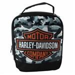 Lancheira Térmica Quadrada Harley Davidson Camuflada