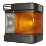 Lanterna Dianteira Asia Ônibus Am825 1994 a 1998 Mobis - Lado Esquerdo