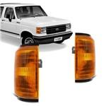 Lanterna Dianteira Pisca Ford F1000 F4000 1989 1990 1991 1992 1993 1994 1995 1996 1997 Âmbar