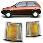Lanterna Dianteira Pisca Seta Uno 1991 a 1999 Cristal Modelo Arteb Lado Direito Passageiro