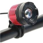 Lanterna Farol Bike Ws-111 Jws Led Cree Recarregável T6
