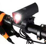 Lanterna Farol Led Bike Recarregável Xml2 Igual X900 C Pisca