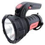 Lanterna Led Alfa Brasfort 2 Funções e Luz Auxiliar a Pilha