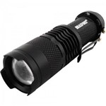 Lanterna Led C/zoom Mini Preto Brasfort