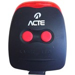 Lanterna para Bicicleta Acte Sports A13 Bike Lase