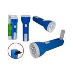 Lanterna Recarregavel de Led Dupla Utilidade 7 Leds Funcao Lanterna e Lampada de Mesa Dp-1921 Dp-192