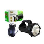Lanterna Recarregavel de Longa Distancia com Lampada de Mesa 1+15 Leds Dp-770 Dp-770 Dp Electron