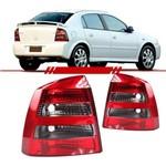 Lanterna Traseira Astra Hatch 2003 a 2012 Bicolor Fume Lado Esquerdo Motorista