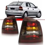 Lanterna Traseira Astra Sedan 1998 1999 2000 2001 2002 Tricolor Fumê