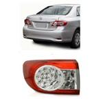 Lanterna Traseira Corolla 2012 2013 2014 Modelo Lateral com Led - Lado Esquerdo
