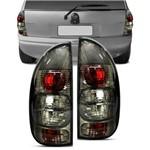 Lanterna Traseira Corsa Hatch 4 Portas Wagon Pick-up 00 01 02 Fumê Bicolor Tuning