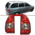 Lanterna Traseira Corsa Wagon Pick´Up Corsa 2000 2001 2002 2003 Fumê