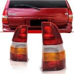 Lanterna Traseira Escort Sw 1991 à 2003 Tricolor Lado Esquerdo Motorista