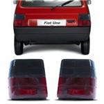 Lanterna Traseira Fiat Uno 1985 a 2004 Fumê