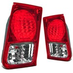 Lanterna Traseira Honda Civic 04 05 06 Serve na 01 02 03 - Par
