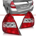 Lanterna Traseira Honda Fit 2003 2004 2005 2006 2007 2008