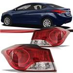 Lanterna Traseira Hyundai Elantra 2011 2012 2013 2014 2015 Bicolor Canto
