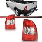 Lanterna Traseira Strada G2 2003 2004 2005 Bicolor Serve 2001 2002 com Adaptação