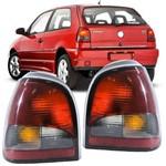 Lanterna Traseira Volkswagen Gol Bola G2 1995 a 1999 Fume Lado Direito Passageiro