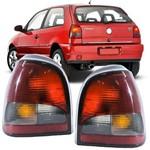 Lanterna Traseira Volkswagen Gol Bola G2 1995 a 1999 Fume Lado Esquerdo Motorista