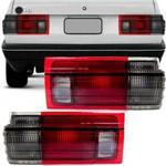 Lanterna Traseira Volkswagen Voyage 1985 a 1990 Fume Friso Preto