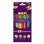 Lapis 24 Cores Multicolor