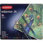 Lápis de Cor Aquarelável Derwent Inktenses Estojo Metal 024 Cores 0700929