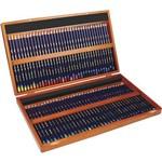 Lápis de Cor Aquarelável Inktense 72 Cores Estojo Madeira