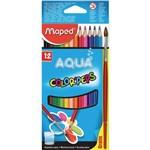 Lápis de Cor Aquarelável Maped Color Peps 012 Cores Fr83601102