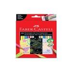 Lápis de Cor Ecolápis 18 Cores Especiais Faber Castell