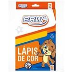Lapis de Cor Jumbo Longo 12 Cores Lp1206 Brw