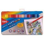 Lapis de Cor Mega Soft Colorido 72 Cores 687247 - Summit