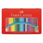 Lapis de Cor Triangular Faber-castell Ecolapis Grip Lata - 36 Cores