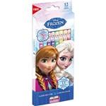 Lápis de Cor Tris com Apontador Frozen 12 Cores