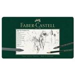 Lápis Grafite Faber-castell Estojo Metálico com 26 Peças - 112974