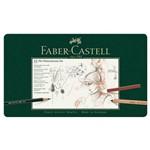 Lápis Monocromático Faber-castell Estojo Metálico com 33 Peças - 112977
