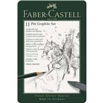 Lápis Pitt Graphite Set Estojo com 11 Unidades Faber-castell