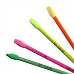 Lápis Preto com Borracha Neon Premium Cis