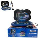 Laptop Batman - Compact de 33 Atividades e Relógio Digital - Candide