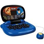 Laptop Infantil Batman 9050 Azul e Preto com 30 Atividades - Candide