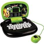 Laptop Infantil Ben 10 Verde e Preto com 30 Atividades - Candide