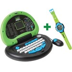 Laptop Max Steel - 33 Atividades e Relógio Digital - Candide