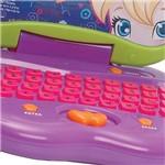 Laptop Polly Função Bilíngue com Relógio- 64 Atividades - Candide