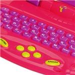 Laptop Trilíngue Polly com 84 Atividades Candide Rosa