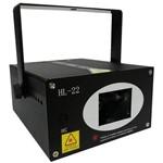 Laser Strobo Canhão Projetor Holográfico com Raios 250mw Dj