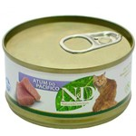 Lata N&D Feline Umido Atum do Pacifico 70g