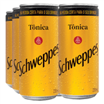Lata Schweppes Tônica 220ml (pack 6 Unidades)