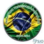 Latinha Bandeira do Brasil | SJO Artigos Religiosos